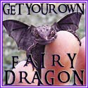 Get Your Very Own Hypnotic FAIRY DRAGON Friend