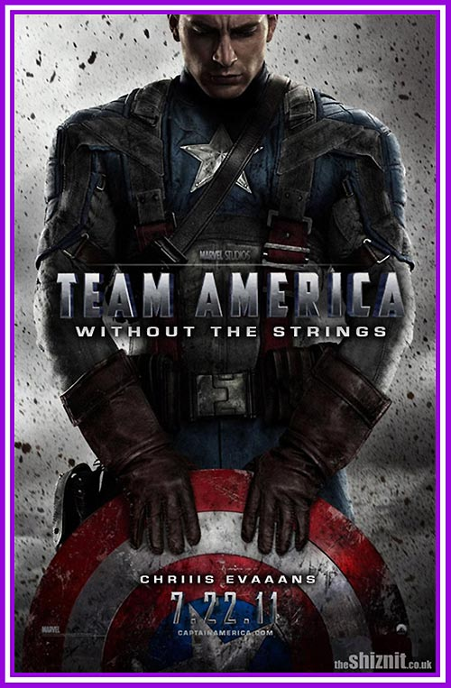 Proof that Captain America is Team America without Strings