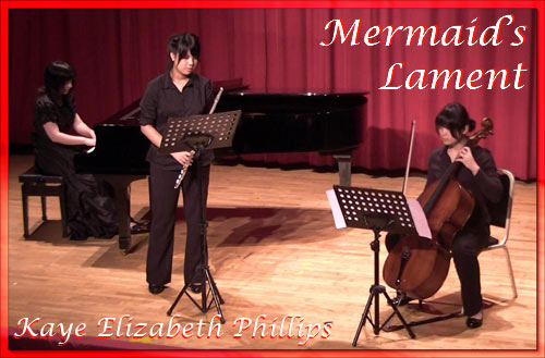 Kaye Phillips performs Mermaid's Lament
