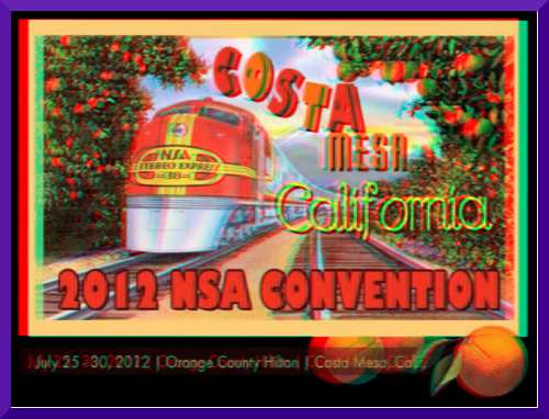 3D Promo for National Stereoscopic Association Convention in Mesa