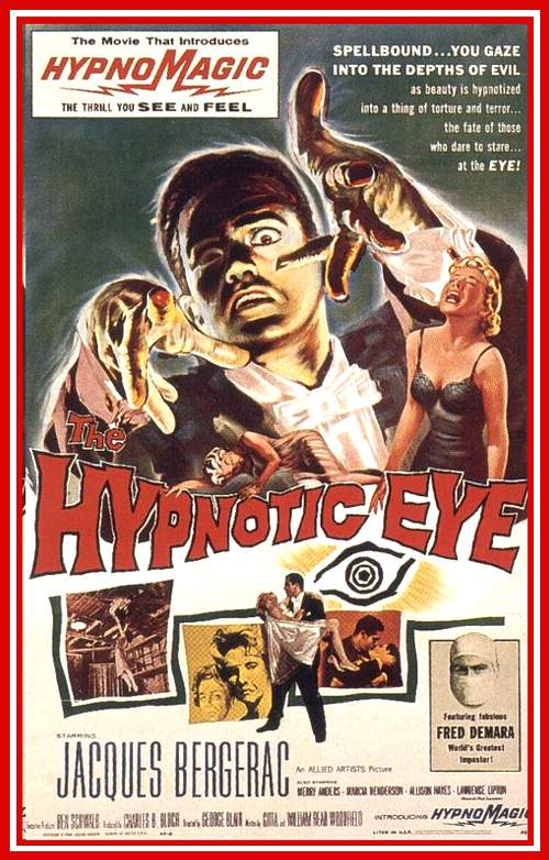 Proof of Hypnosis in the Hypnotic Eye