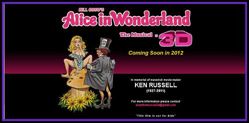 Alice in Wonderland X-Rated Musical Remake