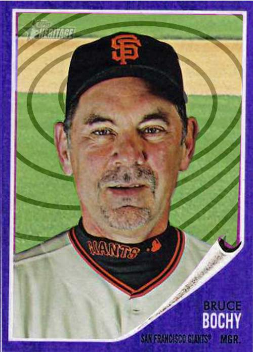 Giants Manager Bruce Bochy kicks dip habit with Hypnosis